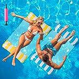Huarumei 2Stk Luftmatratze Pool, Pool Spielzeug Erwachsene 4...