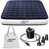 Active Era Luxus Camping Doppel Luftbett mit elektrischer...